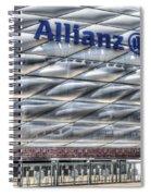 Allianz Arena Bayern Munich  Spiral Notebook