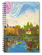 Bayou Saint John One Spiral Notebook