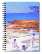 Beach At Cabasson - Digital Remastered Edition Spiral Notebook