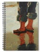 Beach Pose Spiral Notebook
