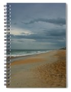 Beach Skies Clearing Spiral Notebook