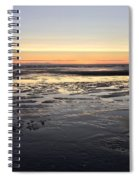 Beach Sunset, Blackpool, Uk 09/2017 Spiral Notebook