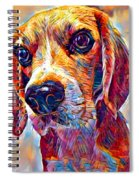 Beagle 3 Spiral Notebook