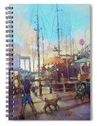 Beaufort Summer Color Spiral Notebook