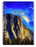 Beautiful El Capitan Spiral Notebook