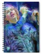 Beck Singer Songwriter Spiral Notebook