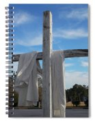 Behold, He Is Coming With The Clouds, Spiral Notebook