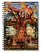 Bellagio Conservatory Enchanted Talking Tree Ultra Wide 2018 2.5 To 1 Aspect Ratio Spiral Notebook