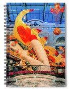Bellagio Conservatory Falling Asleep Display Wide 2018 2.5 To 1 Aspect Ratio Spiral Notebook