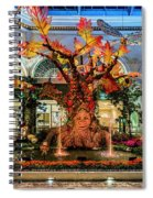 Bellagio Enchanted Talking Tree Ultra Wide 2018 2 To 1 Aspect Ratio Spiral Notebook