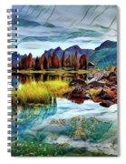 Belluno Mountains Spiral Notebook