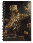 Belshazzar S Feast  Spiral Notebook
