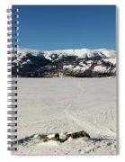 Bennett Lake At Carcross Yukon Spiral Notebook