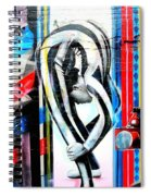 Bent Over Backward  Spiral Notebook