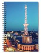 Berlin - Funkturm Spiral Notebook