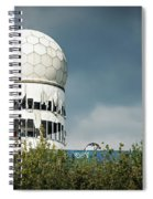 Berlin - Teufelsberg Listening Station Spiral Notebook