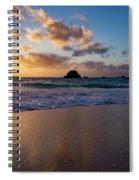Bermuda Beach Sunrise Spiral Notebook