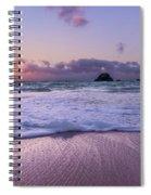 Bermuda Sunrise Welcome To Heaven Crossbay Beach Spiral Notebook
