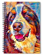 Bernese Mountain Dog Spiral Notebook