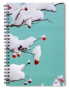 Berries And Cream Spiral Notebook
