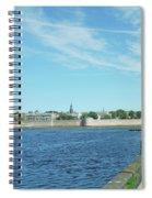 Berwick Upon Tweed, River And City Walls Spiral Notebook