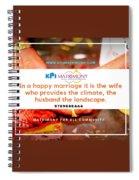 Best Matrimony In Chennai Spiral Notebook