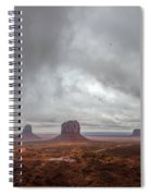 Between Squalls Spiral Notebook