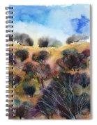 Beyond The Hills Spiral Notebook