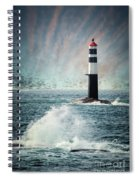 Beyond The Northern Waves Spiral Notebook
