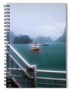 Bhaya Cruise Line Ha Long Bay  Spiral Notebook