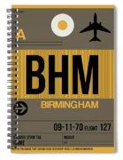 Bhm Birmingham Luggage Tag I Spiral Notebook