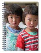Bhutan Twins Spiral Notebook