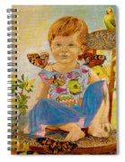 Bianka And Butterflies Spiral Notebook