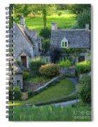 Bibury Cottages Spiral Notebook