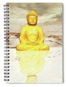 Big Buddha, Little Buddha Spiral Notebook