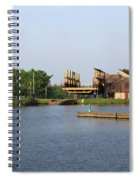 Big Chute Marine Railway, Trent Severn Waterway, Ontario Spiral Notebook