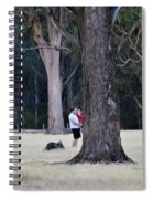 Big Gums On The Farm Spiral Notebook