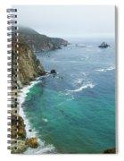 Big Sur Ocean Views Spiral Notebook