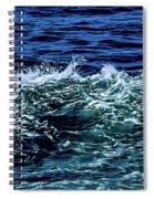 Big Surf Pano Spiral Notebook