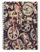 Bike Mountain Spiral Notebook