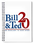 Bill And Ted Spiral Notebook