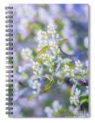 Bird Cherry Spiral Notebook