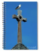 Bird Of Pray Spiral Notebook