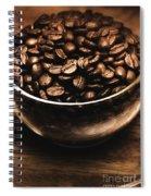 Black Coffee, No Sugar Spiral Notebook