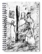 Black Ivory Actual 1b20z Spiral Notebook