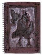 Black Ivory Issue 1b15 Spiral Notebook