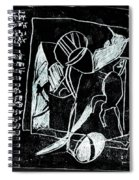 Black Ivory Issue 1b17a Spiral Notebook