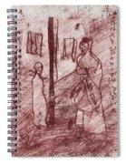 Black Ivory Issue 1b20 Spiral Notebook