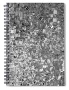 Black Outed Spiral Notebook
