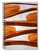 Black Walnut Ink Drawing # Spiral Notebook